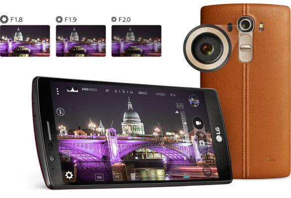 LG G4 LGH815TR F1.8 Lens 16MP