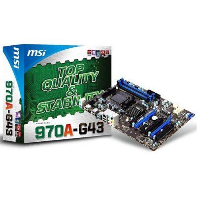 MSI 970A-G43 Amd 970 2133MHz(OC) DDR3 Soket AM3+ ATX Anakart