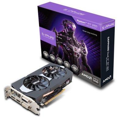 Sapphire Amd Radeon R7 265 DUAL-X 2GB 256Bit GDDR5 (DX12) PCI-E 3.0 Ekran Kartı