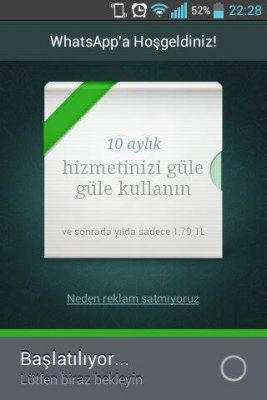 Whatsappbedavasureuzatma
