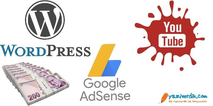 Google Adsense Reklamları Ile Para Kazanmak