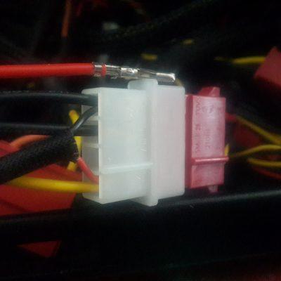 molex +7 volt modified