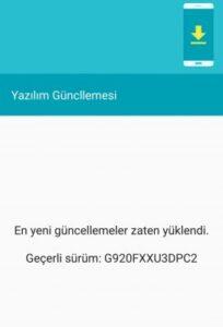 Samsung Galaxy S6 Marshmallow Güncellemesi 6.0.1 Aldı