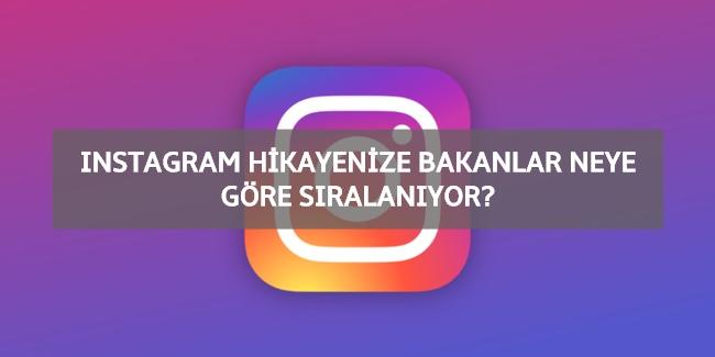 instagram hikayenize bakanlar