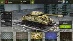 iron force tank savaş oyunu kalıplar